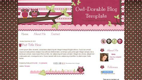 sweet templates for blogger cara mengganti template blog terbaru indah nur amalia