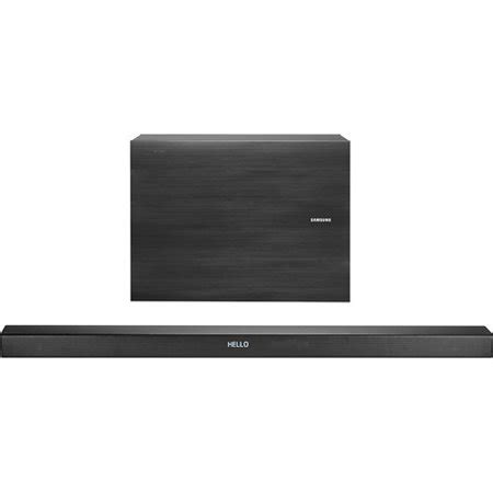samsung hw k550 3 1 channel 340 watt wireless audio soundbar 2016 model walmart