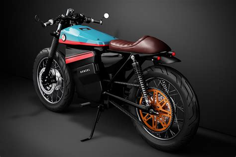 Motorrad Modell Cafe Racer model electric cafe racer 1 hiconsumption