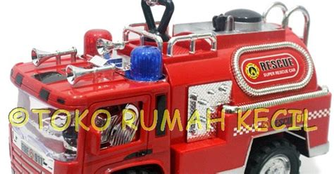 membuat robot pemadam kebakaran toy castle pemadam kebakaran baterai