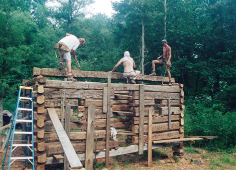 best way to build a house the best way to learn how to build a log cabin handmade
