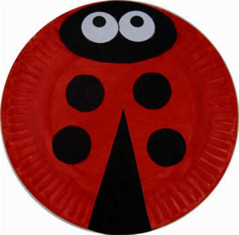How To Make A Ladybug Out Of Paper - bug craft