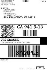 usps shipping label template ups label template 7 best images of blank shipping label