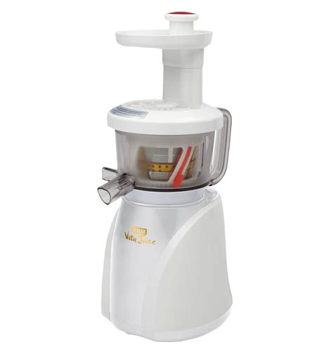 Cold Pressed Juicer cold press juicer vitajuice vj2012 white