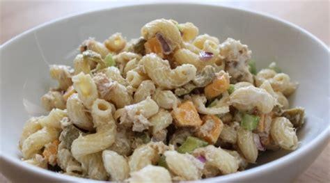 cold tuna noodle pasta salad recipe image gallery noodle salads