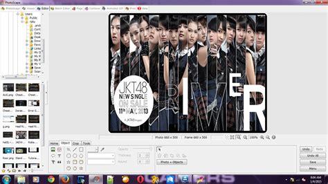 cara membuat id card jkt48 di photoscape cara buat id card menggunakan photoscape mars blog