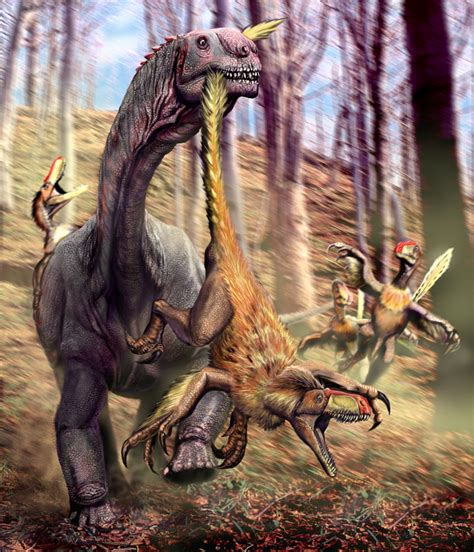 themes list art sauropods stomping theropods a much neglected theme in