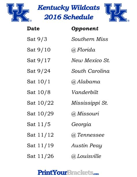 printable kentucky basketball schedule 2014 15 kentucky wildcats basketball schedule 2015 basketball scores