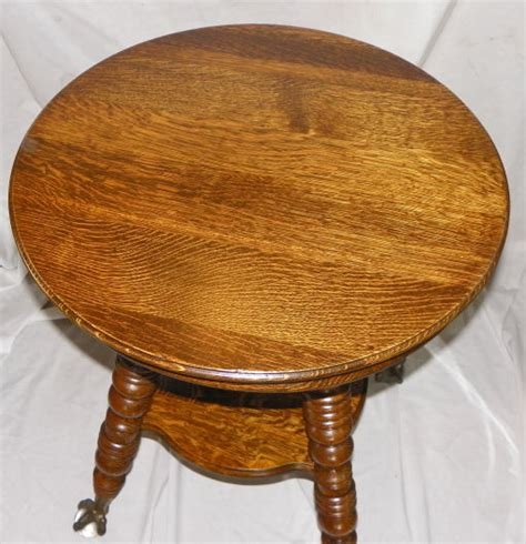 claw table with glass balls in the claw bargain s antiques antique oak l table