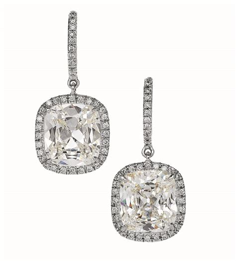Ohrringe Diamant by Cushion Cut Lisette Earrings Hamilton Jewelers