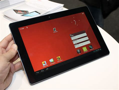 Tablet Fujitsu Stylistic M532 fujitsu shows stylistic m532 android tablet