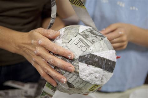 How Do U Make Paper Mache - a recipe for no cook paper mache paste