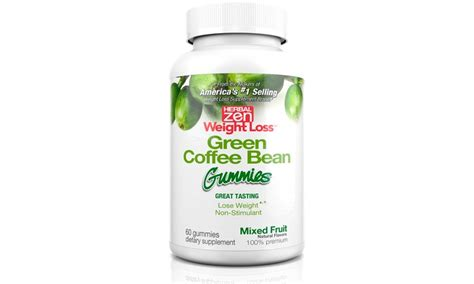 Herbal Green Coffee Bean weight loss gummies groupon goods