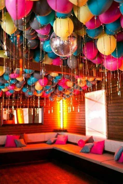 Increibles imagenes de decoracion de globos en el techo