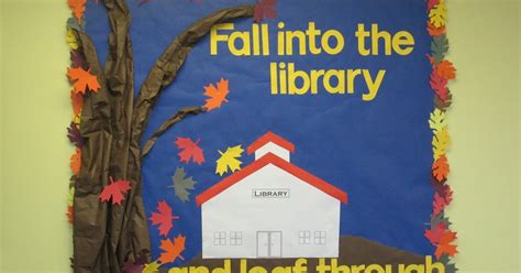 the fall of the readers the forbidden library volume 4 books lorri s school library fall library bulletin board