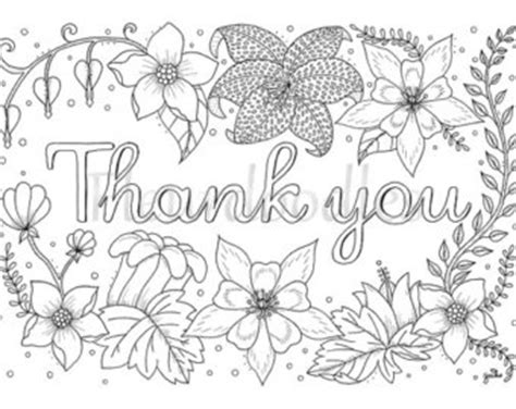 free coloring pages thank you thank you cards coloring pages bestofcoloring com