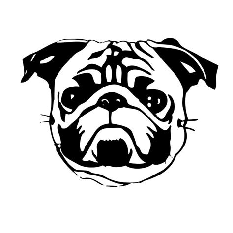 pug vector free deviantart more like pug by romantist egoist
