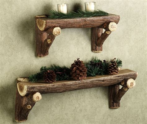 Best Wood For Furniture by Rustic Wood Wall Shelves The Best Wood Furniture