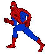 imagenes opticas gif gifs animados de spiderman el hombre ara 241 a para ni 241 os