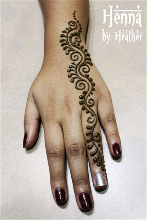 henna design hand simple gallery henna by heather