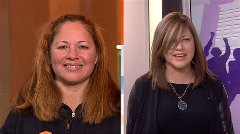 the man that does ambush makeover on today with hoda firefighter mom gets surprised by ambush makeover on today