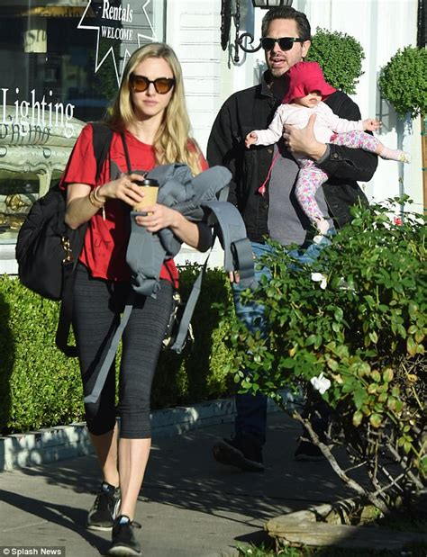 amanda seyfried name amanda seyfried is in la with her newly formed family