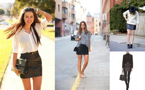what to wear with a leather skirt in the summer redskirtz