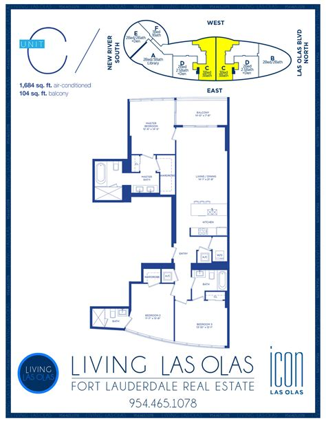icon condo floor plan icon las olas floor plans icon las olas