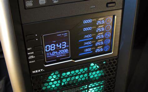 Nzxt Sentry Lx Terpercaya hardwarelogic reviews nzxt sentry lx lcd fan controller
