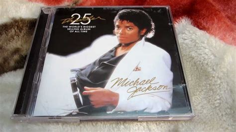 Thriller 25th Anniversary Edition Album Cover Michael Jackson Works With Akon Fergie William Kanye West For 212 Re Release by Michael Jackson Thriller 25th Anniversary Edition Cd