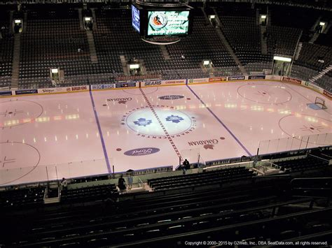 what is section 16 air canada centre section 322 toronto maple leafs