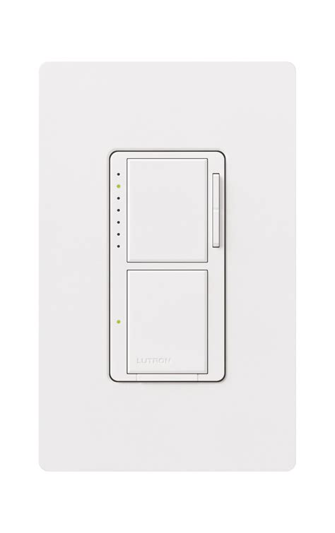 dual dimmer light switch maestro 300w dual dimmer with digital switch by lutron