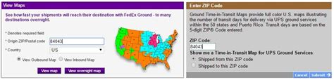 zip code map generator fedex vs ups part 2 which should you use idrive