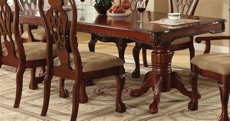 pedestal dining room table sets george town rectangular double pedestal formal dining room
