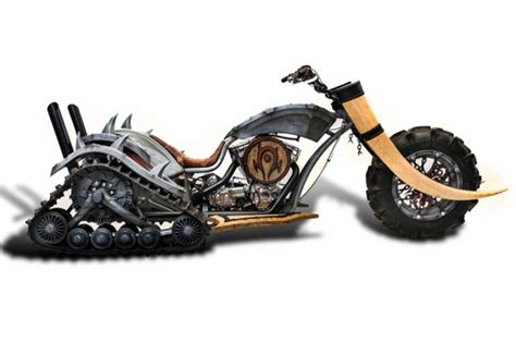 Chopper Motorrad Mobile De by Just A Car World Of Warcraft Horde Inspired Choppers