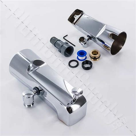 bathtub faucet with handheld shower diverter add a shower and hand shower diverter tub spout kits