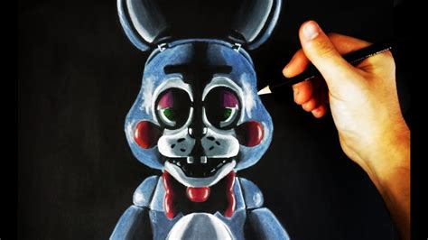imagenes de fnaf para dibujar faciles c 243 mo dibujar a toy bonnie de fnaf five nights at freddy s