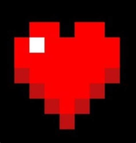 imagenes de corazones de video juegos barra de vida minecraftpedia