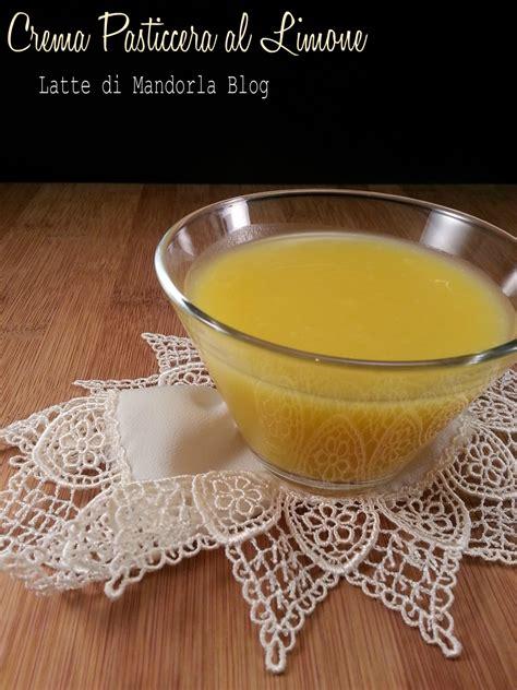 intolleranza al lattosio alimenti consentiti crema pasticcera al limone senza latte burro glutine