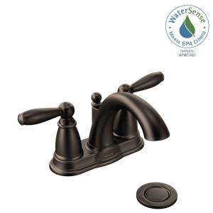 moen brantford kitchen faucet rubbed bronze moen brantford 4 in centerset 2 handle low arc bathroom