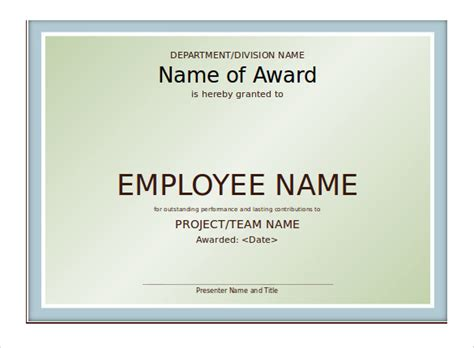 powerpoint award certificate template 8 powerpoint certificate templates to sle