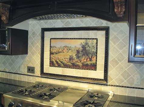 kitchen tile murals tile art backsplashes examples of kitchen backsplashes kitchen tile murals