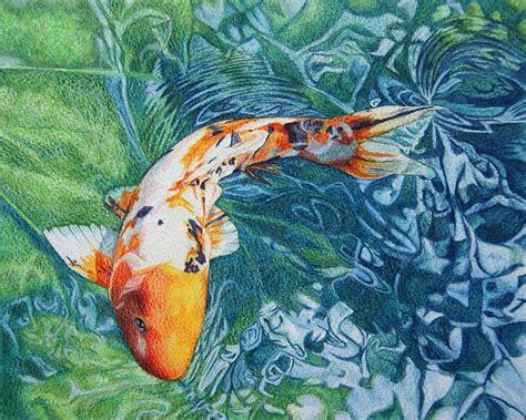 image gallery koi carp art