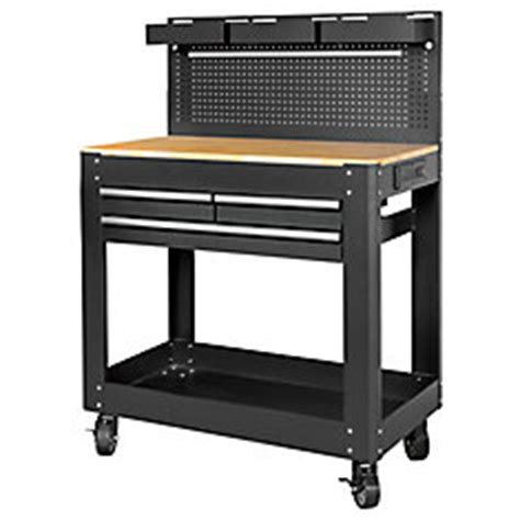home depot work bench with lights and sounds tool set husky deluxe 3 drawer work bench the home depot canada