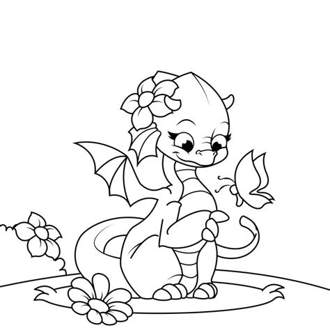 coloring pages of cute dragons 1000 images about dragon coloring pages on pinterest