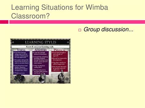 Wi Mba by Wimba Classroom