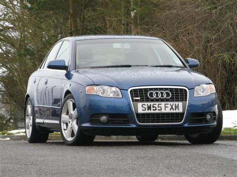 Audi A 4 Gebraucht by Used Audi A4 2006 Blue Colour Diesel 2 0 Tdi S Line Saloon