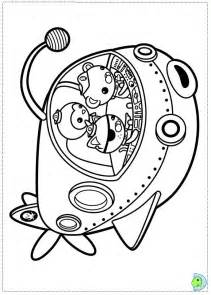 free coloring pages octonauts drawings