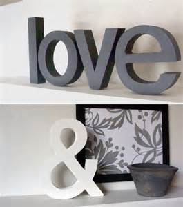 Letters Home Decor by Decorative Letters For Home Home Decor Trends Pictures To