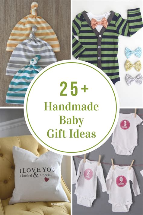 Handcrafted Baby Gifts - handmade baby gift ideas